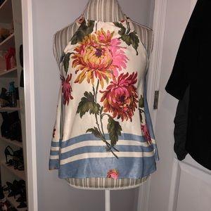 Zara flower print tank top